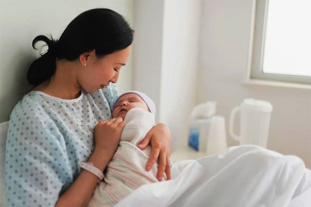 10. Doğum sonrası masajla dolaşımın iyileştirilmesi