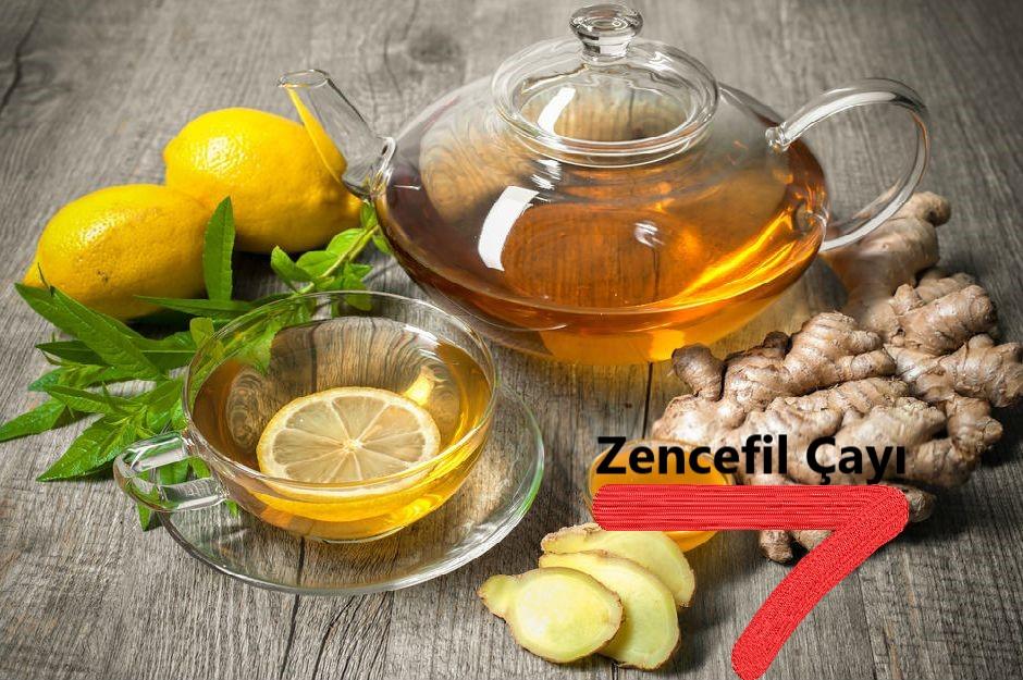 3.Zencefil Çayı