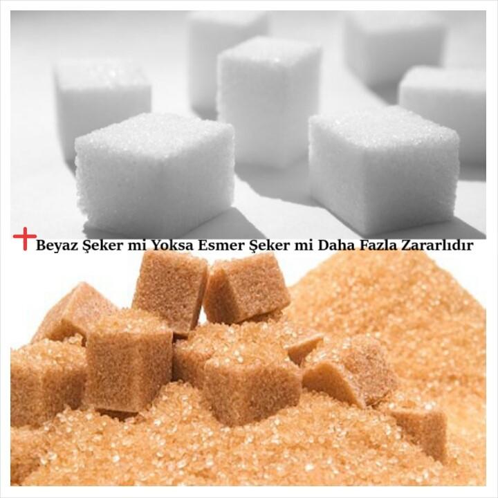 Beyaz Şeker mi Yoksa Esmer Şeker mi Daha Fazla Zararlıdır