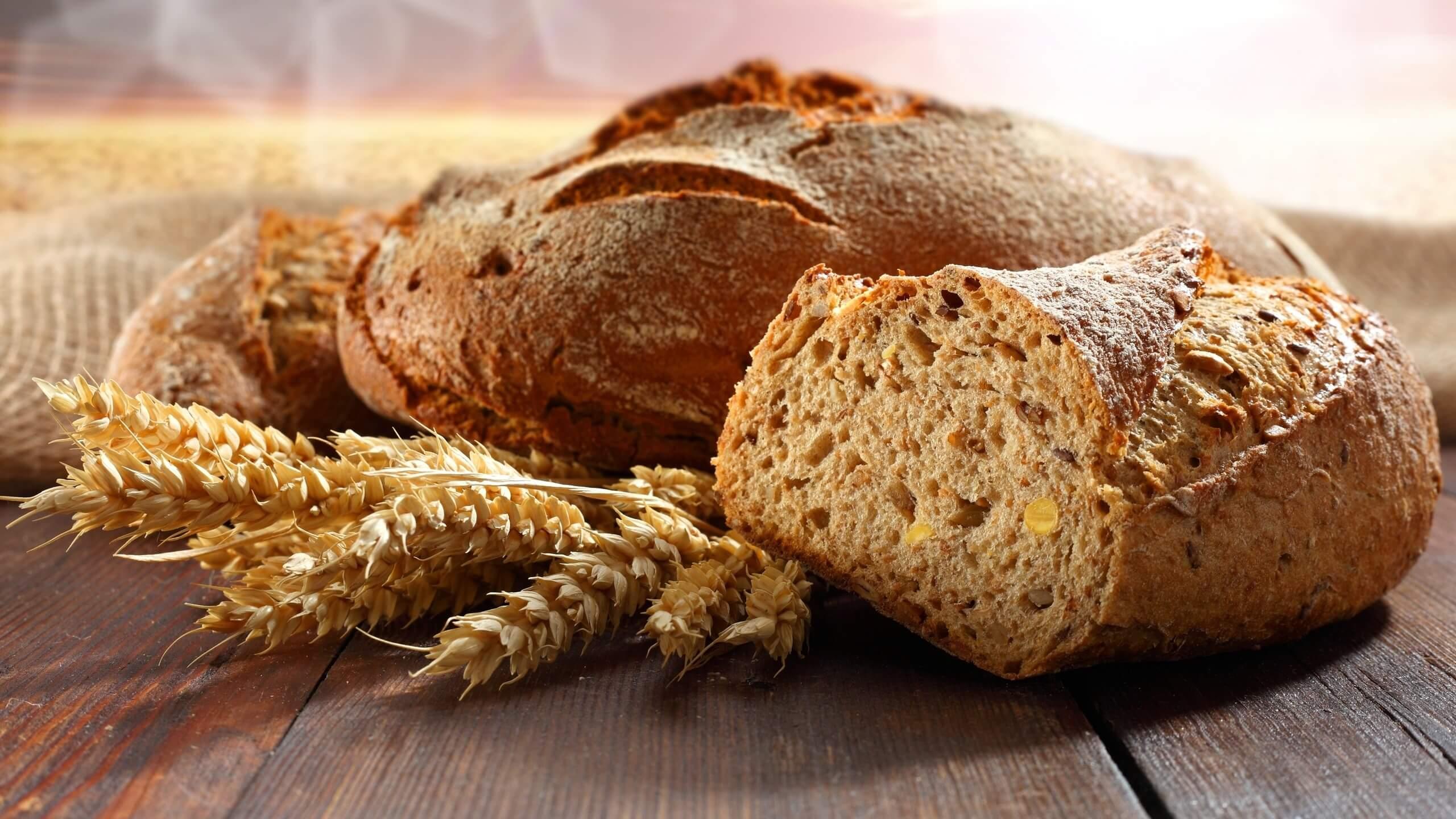 Tam buğday ekmekleri, tahıllar