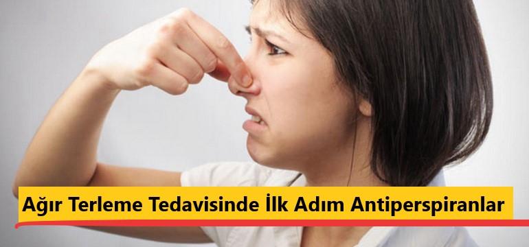 Ağır Terleme Tedavisinde İlk Adım Antiperspiranlar